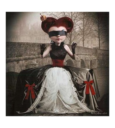 Affiche La reine rouge