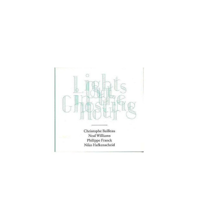 Lights out in the ghosting hour (CD)