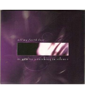 As you're vanishing in silence (Ltd edition CD)