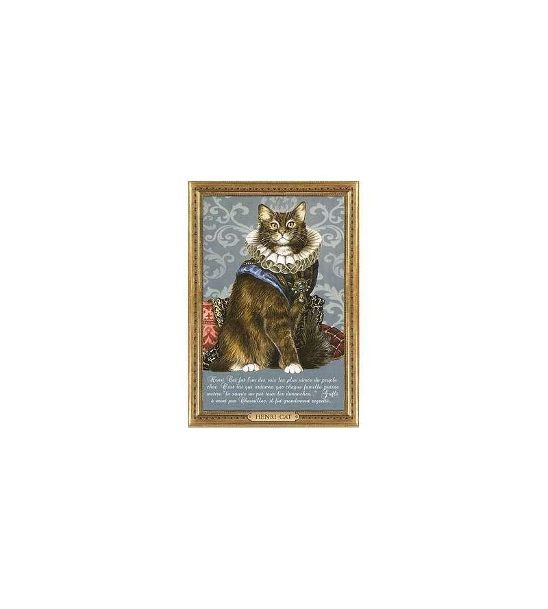 Carte postale Henri Cat