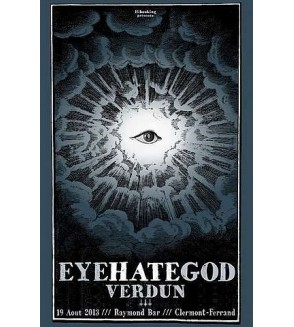 Affiche Eyehategod / Verdun