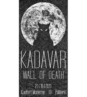 Affiche Kadavar / Wall of death