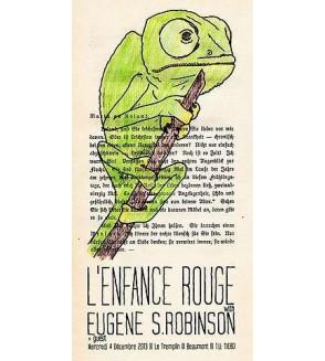 Affiche L'enfance rouge / Eugene S. Robinson