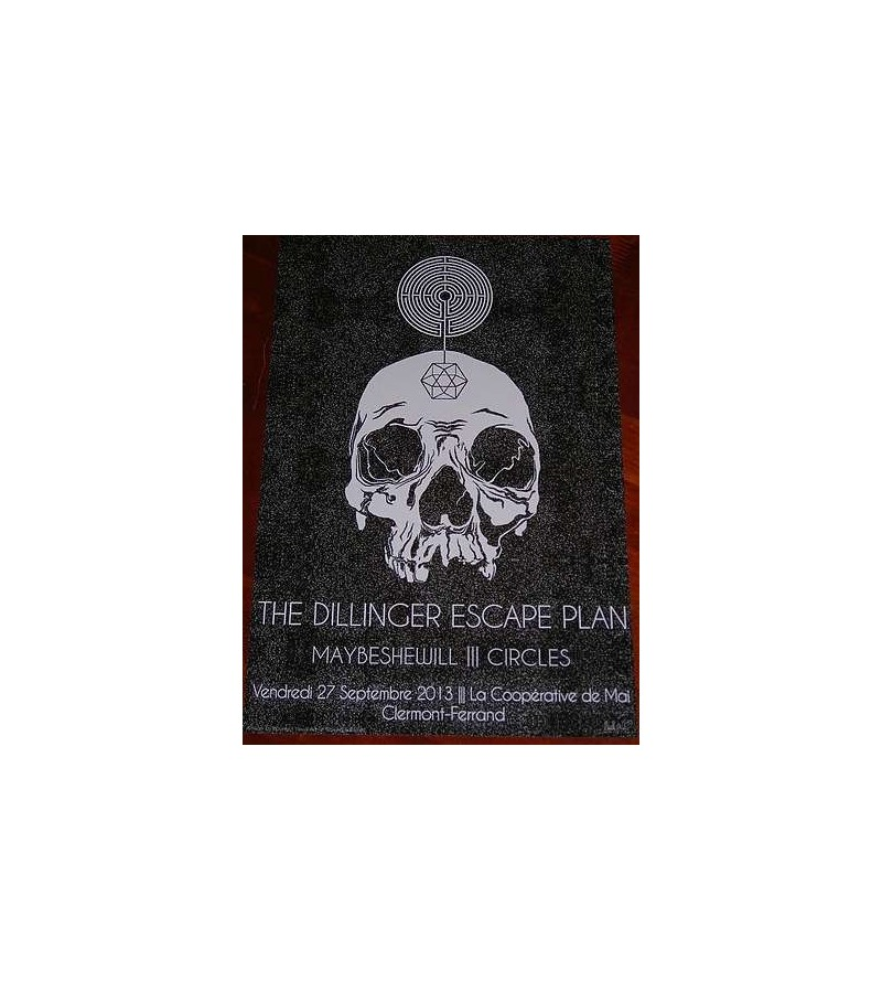 Affiche The Dillinger escape plan