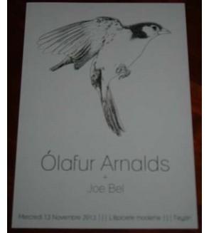 Affiche Olafur Arnalds / Joe Bel