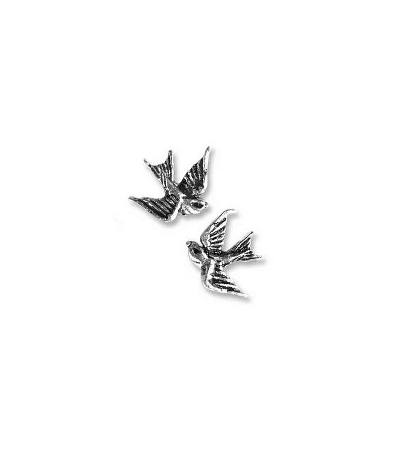 Paire de boucles d'oreilles Swallow