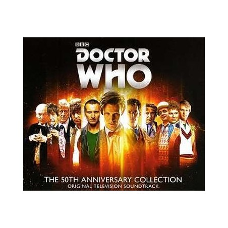Doctor Who the 50th anniversary collection OST (4 CD)