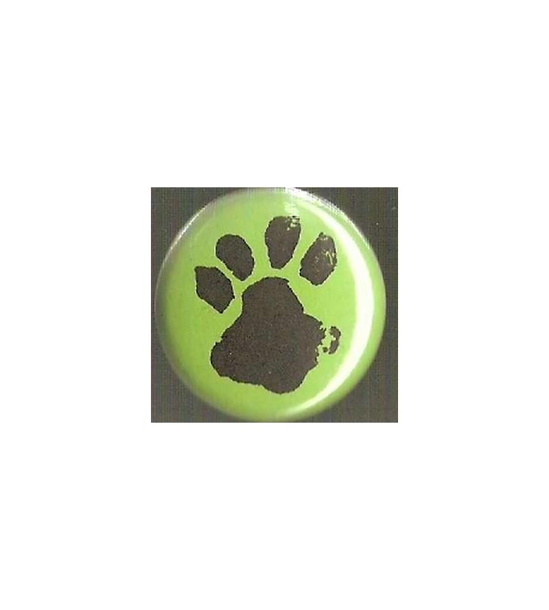Badge vert Empreinte