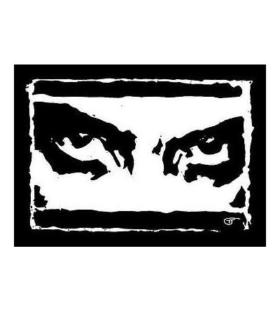 Carte postale Black eyes