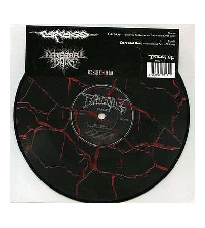 I told you so / Horrendous acts of iniquity (Ltd edition 7'' vinyl)