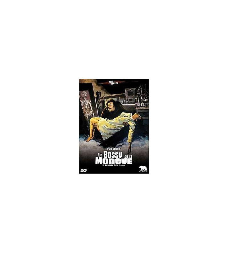 Le bossu de la morgue (DVD + livre)