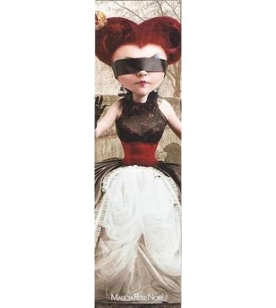 Marque-page La reine rouge avec enveloppe