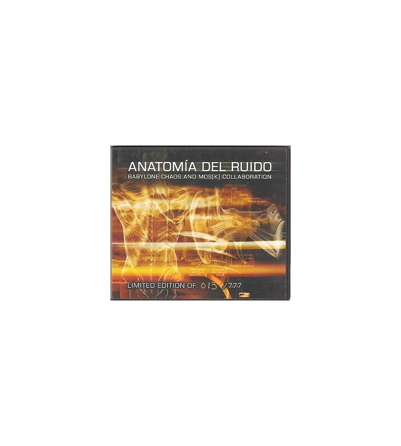 Anatomia del ruido (Ltd edition CD)