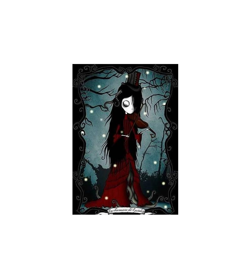Carte postale La charmeuse de lucioles