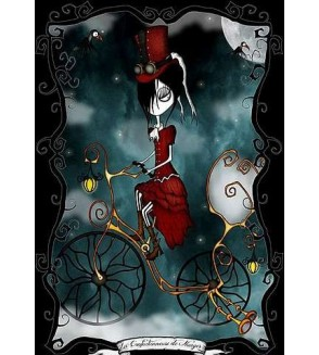 Carte postale La confectionneuse de nuages