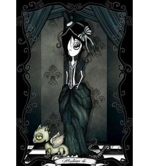 Carte postale Madame de
