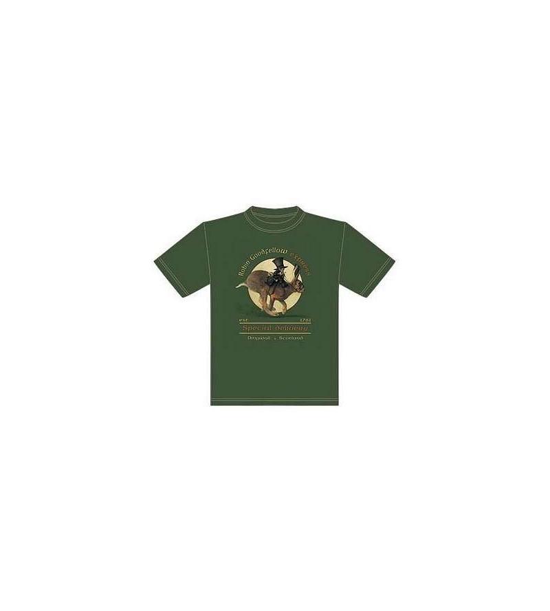 T-shirt kaki Robin Goodfellow