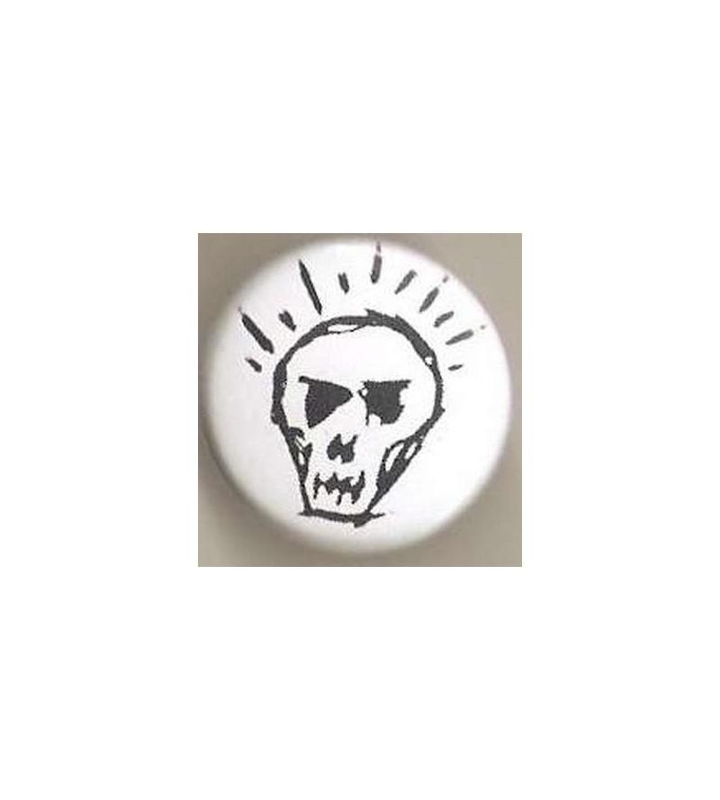 Badge Crâne ampoule
