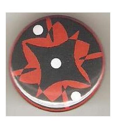 Badge 3 points noir/rouge/blanc