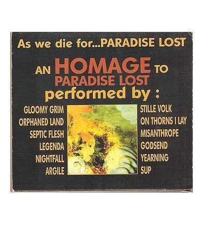 As we die for Paradise lost (CD)