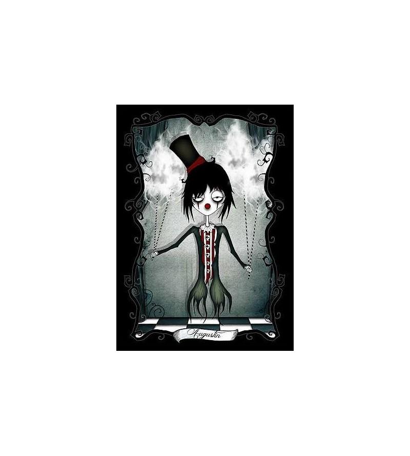 Carte postale Le petit monde tentaculesque d'Emilie : Augustin