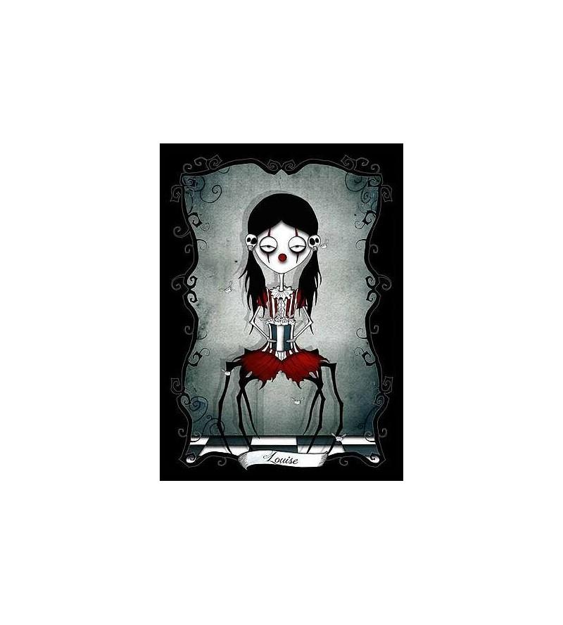 Carte postale Le petit monde tentaculesque d'Emilie : Louise