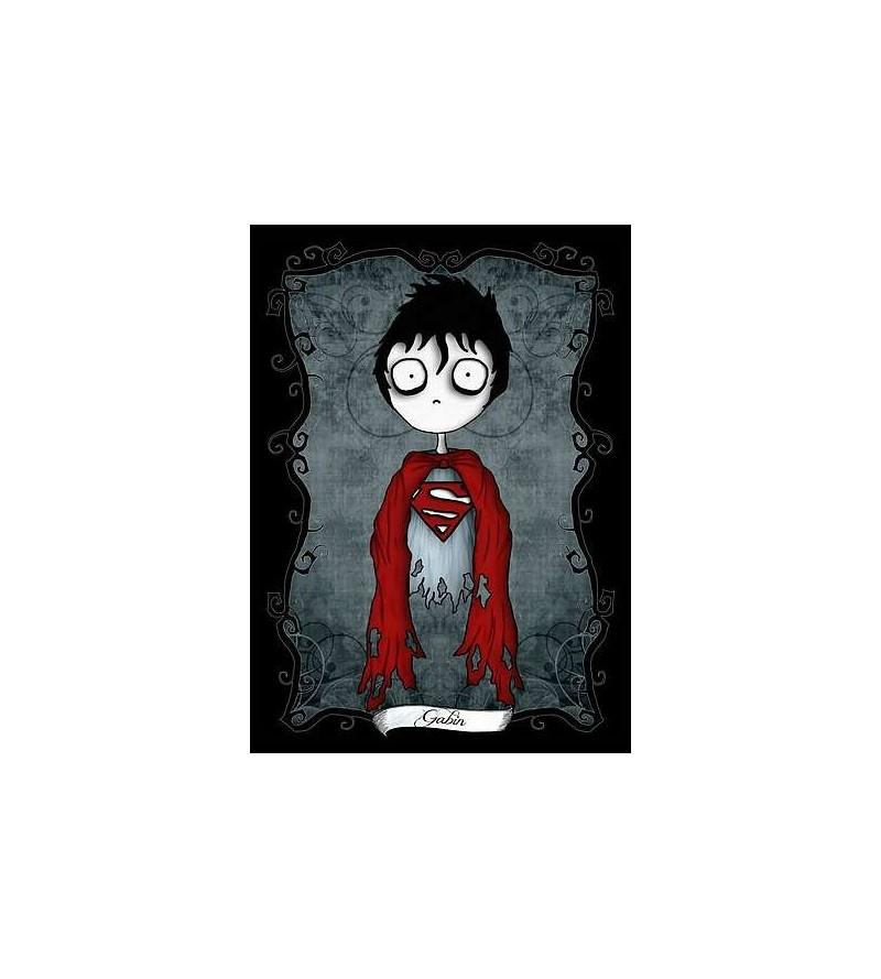 Carte postale Le petit monde tentaculesque d'Emilie : Gabin