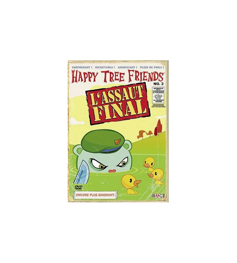 Happy tree friends saison 1 volume 3 (DVD)