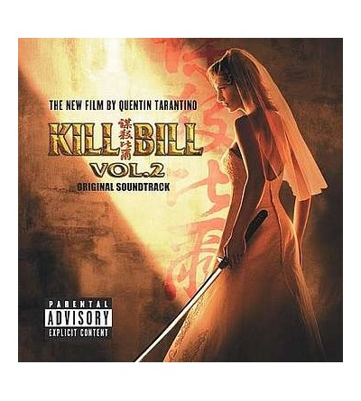 Kill Bill vol.2 original soundtrack (12'' vinyl)