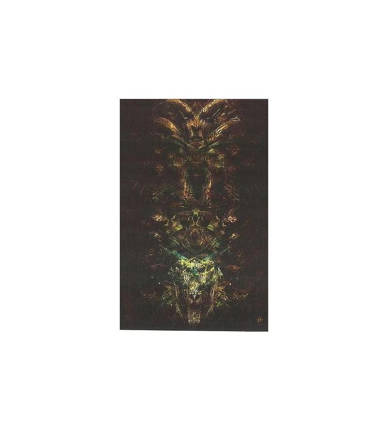 Carte postale Sombre totem