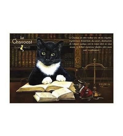 Carte postale Le chavocat