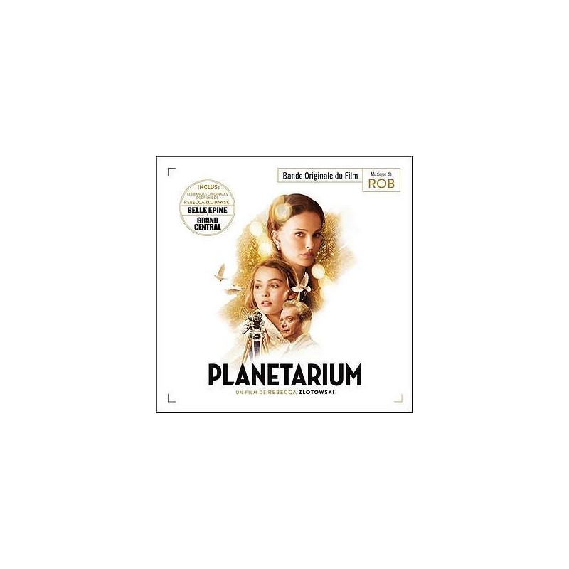 Planetarium / Belle épine / Grad central soundtrack (2 CD)