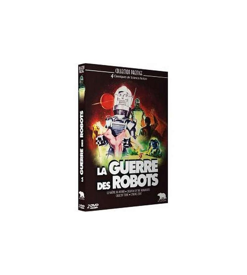 Coffret 4 films La guerre des robots  (2 DVD)