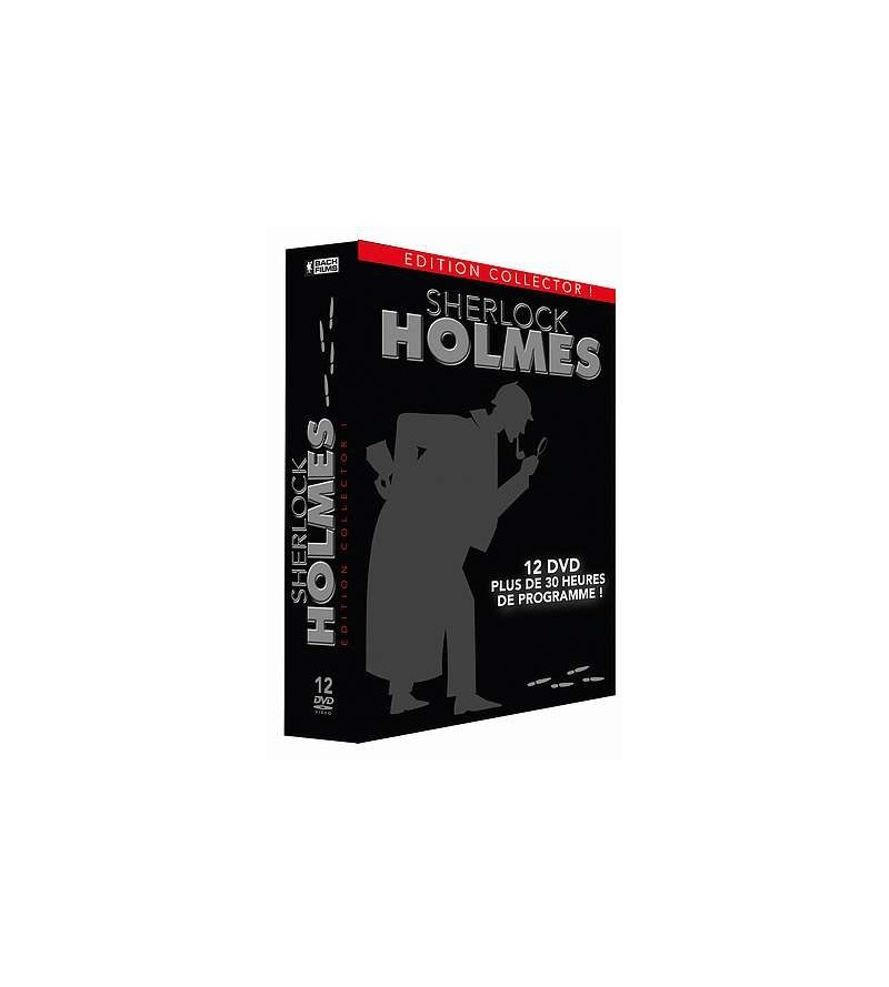 Coffret Sherlock Holmes édition collector (12 DVD)