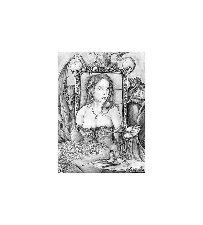 Reprographie A5 Sionis, la reine des vices