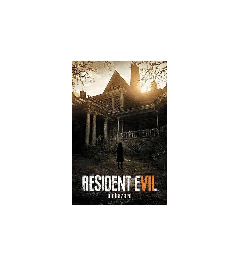 Affiche Resident evil 7 : key art