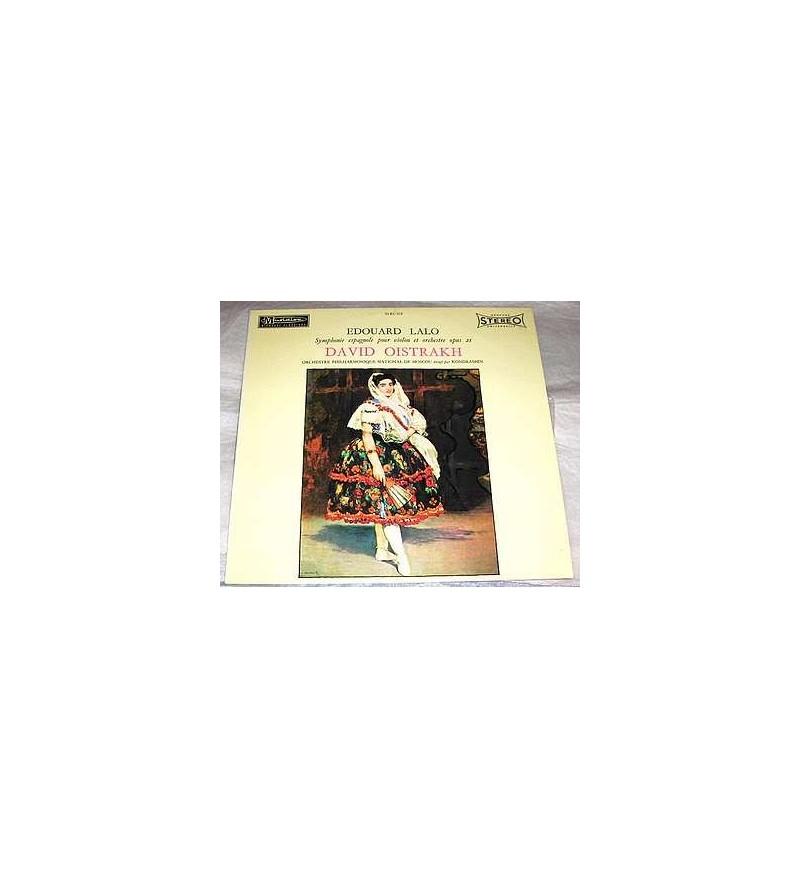 Symphonie espagnole pour violon et orchestre opus 21 (12'' vinyl)