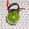 Bague globe végétal