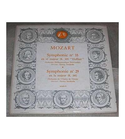 Symphonie n°35 / symphonie n°29 (10'' vinyl)