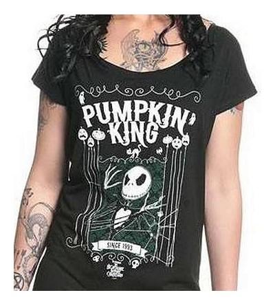 T-shirt L'étrange Noël de monsieur Jack : King Jack (femme)