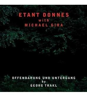 Offenbarung und Untergang by Georg Trakl (12'' vinyl)