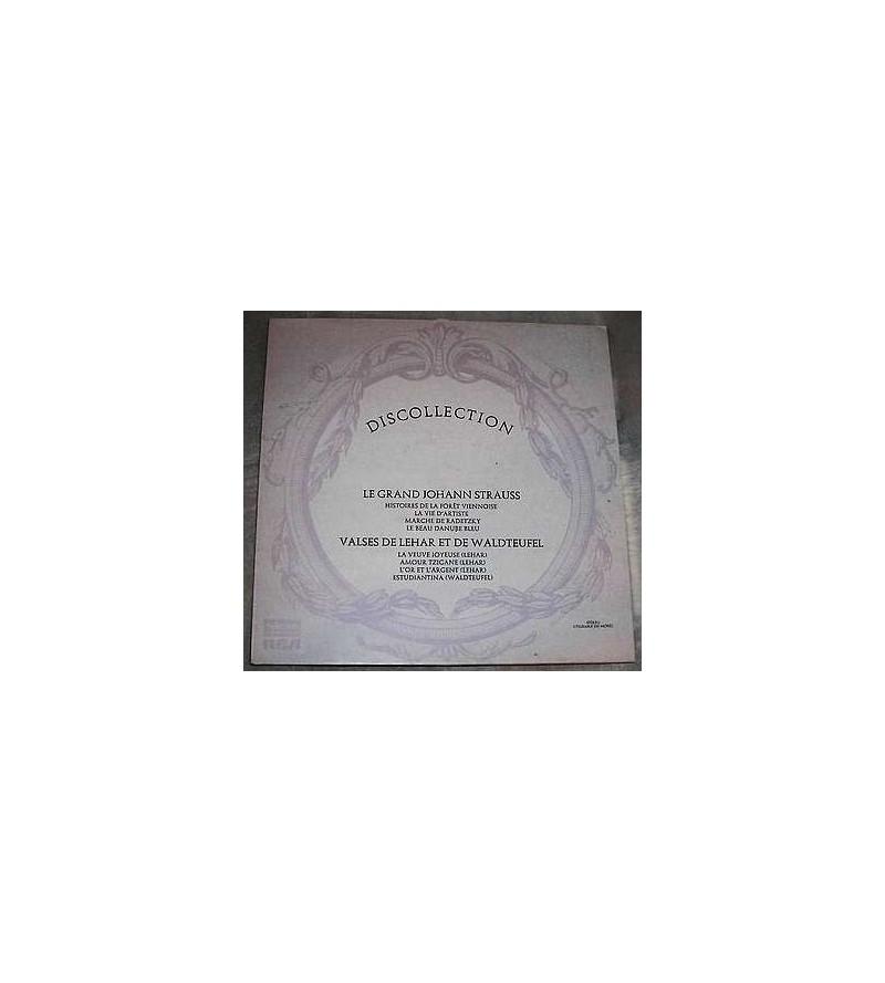 Discollection – le grand Johann Strauss / Valses de Lehar et de Waldteufel (12'' vinyl)