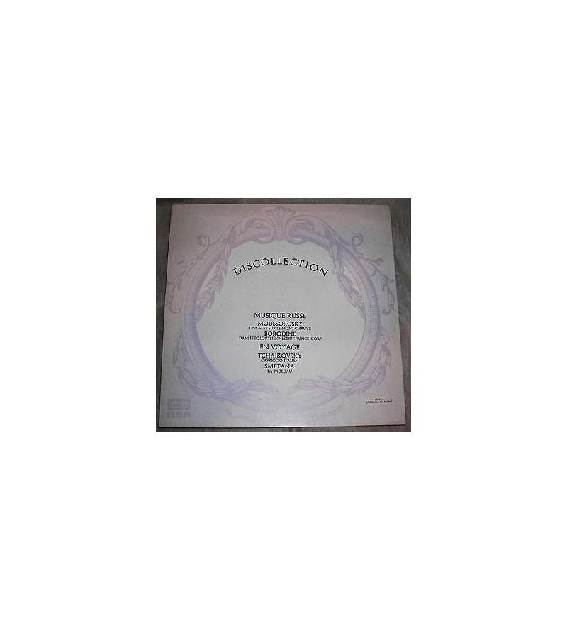 Discollection – Musique russe / En voyage (12'' vinyl)