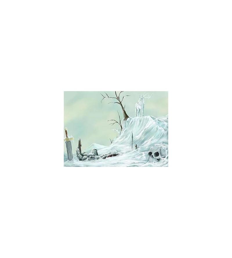 Reprographie A3 Cerf de glace