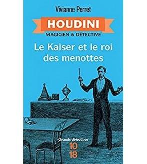 Houdini - magicien & détective 2 : le kaiser et le roi des menottes