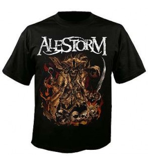 T-shirt Alestorm : We are here to drink your beer