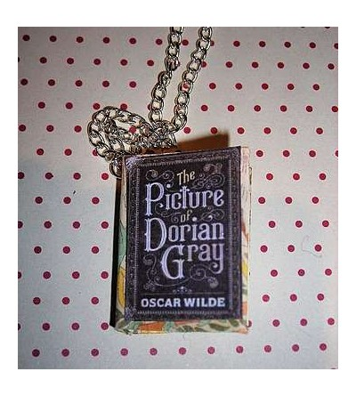 Collier livre The picture of Dorian Gray