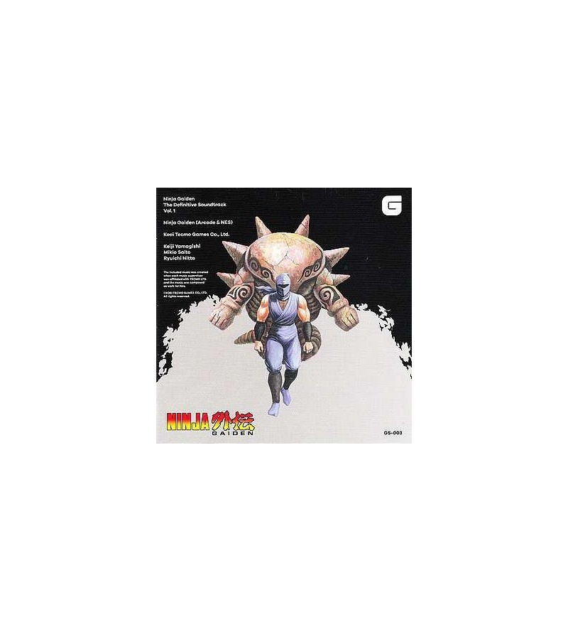 Ninja gaiden the definitive soundtrack vol. 1 (CD)