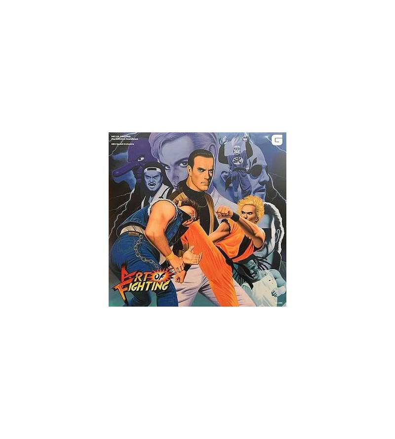 Art of fighting soundtrack (CD)