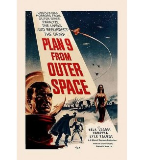 Carte postale Plan 9 from outer space